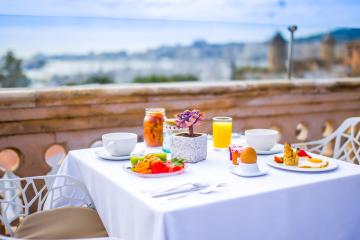 Sky Bar Hotel Hostal Cuba Leisure In Palma De Mallorca